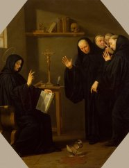 Champaigne_Philippe_deZZZScene_from_the_Life_of_St_Benedict._The_Poisoned_Cup_of_Wine