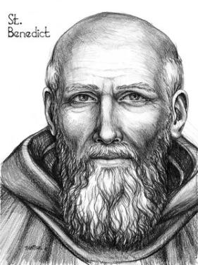 Saint+Benedict